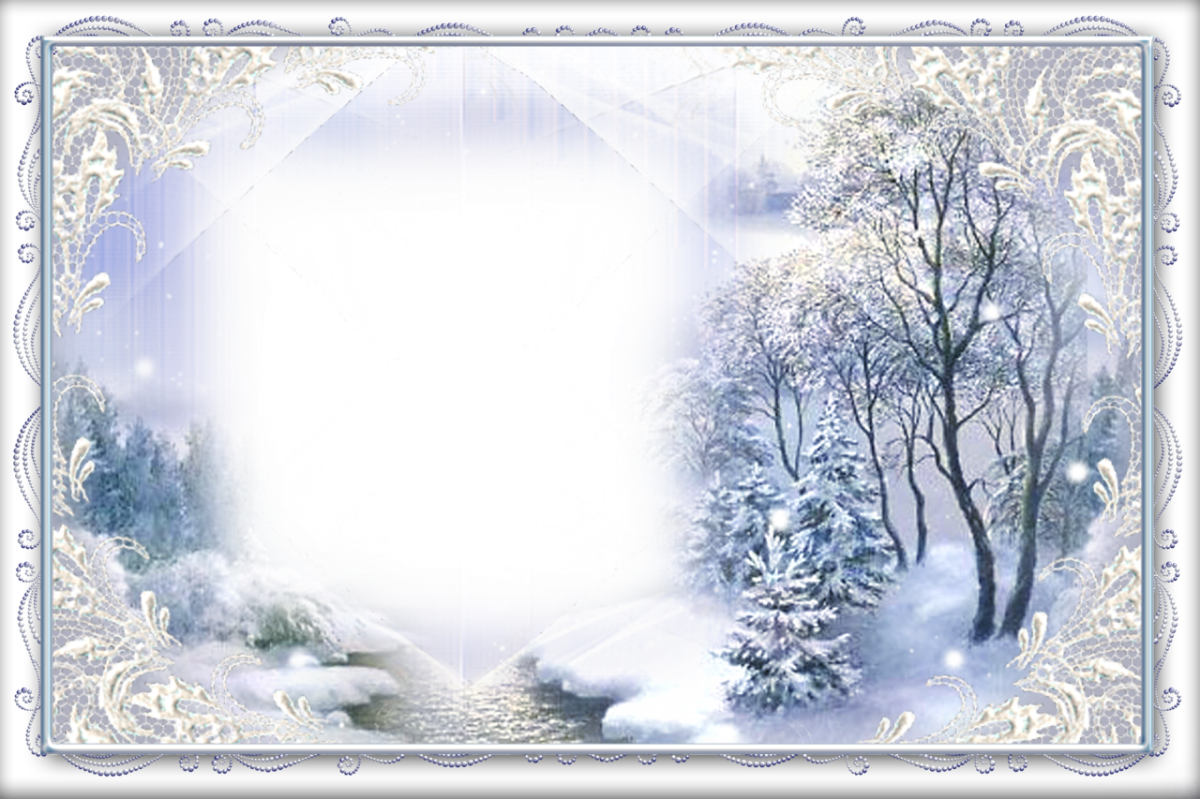 Chic-Winter-Nature-Theme-Picture-Frame.png Nature Borders And Frames ...